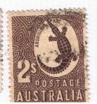 Sellos del Mundo : Oceania : Australia : Aboriginal Art