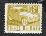 de Europa - Rumania -  2360 - Vehículo Postal