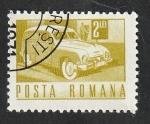 de Europa - Rumania -  2638 - Vehículo Postal