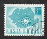 de Europa - Rumania -  2366 - Teléfono automático