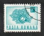 de Europa - Rumania -  2640 - Teléfono automático