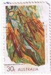 Sellos del Mundo : Oceania : Australia : Aboriginal Art  Cave Painting