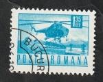 de Europa - Rumania -  2634 - Helicóptero