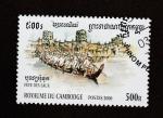 de Asia - Camboya -  Regata de embarcaciones