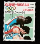 de Africa - Guinea Bissau -  J.O. Barcelona 92