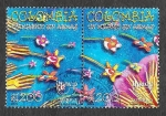 Stamps : America : Colombia :  1164ab - UPAEP América