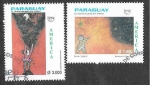 Stamps : America : Paraguay :  2622-2623 UPAEP América