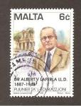 Sellos de Europa - Malta -  RESERVADO MANUEL BRIONES