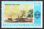 de America - Trinidad y Tobago -  CIUDAD  DE  CORBEAUX.  PINTURA  DE  JEAN  M.  CAZABÓN.