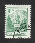 de Europa - Rumania -  2788 - Monumento a Deva