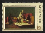 de Europa - Rusia -  Pinturas extranjeras en museos soviéticos.