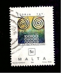 Sellos del Mundo : Europa : Malta : RESERVADO CARLOS RODENAS