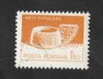 de Europa - Rumania -  3420 - Artesanía, cuenco de madera