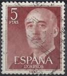 Sellos de Europa - España -  1160_Franco