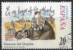 Sellos del Mundo : Europa : España :  3560_Escenas del Quijote