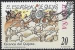 Sellos del Mundo : Europa : España :  3569_Escenas del Quijote