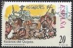 Sellos del Mundo : Europa : España :  3570_Escenas del Quijote