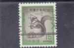 Stamps Japan -  ARDILLA