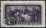 Sellos del Mundo : Europa : Eslovaquia : Sociedad Literaria