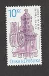 Sellos del Mundo : Europa : República_Checa : Castillo Sternberg