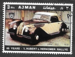 Stamps United Arab Emirates -  YtPA79B - Coches Antiguos