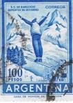 Stamps America - Argentina -  S. C. de Bariloche  Deportes de invierno