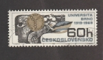 Sellos del Mundo : Europa : Checoslovaquia : 50 Aniv. de la Universidad de Brno