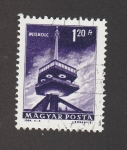 Stamps : Europe : Hungary :  Torre de comunicsciones