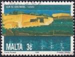 Sellos de Europa - Malta -  Bastión St. Michael