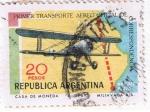 Sellos del Mundo : America : Argentina :  Primer Transporte Aereo  oficial de correspondencia