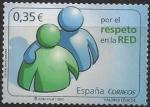 Sellos del Mundo : Europa : España :  4642_Respecto en la red