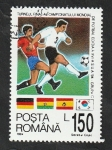 Sellos del Mundo : Europa : Rumania :  4172 - Mundial de fútbol en Estados Unidos