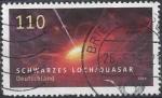 Stamps Europe - Germany -  2019 - Schwerzes Loch_Quasar