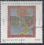 Sellos de Europa - Alemania -  1998 - 900 años nacimiento Bildegard von Bingen