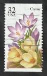 Sellos del Mundo : America : Estados_Unidos :  2467 - Flores de jardín