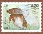 Sellos de Asia - Camboya -  643