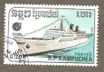 Sellos de Asia - Camboya -  860
