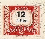 Stamps of the world : Hungary :  PORTÓ