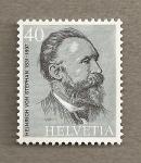 Stamps Europe - Switzerland -  Heinrich von Stephan