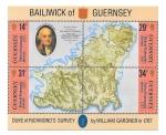 Sellos de Europa - Reino Unido -  347abcd - Bicentenario del Reconocimiento del Duque de Richmond sobre Guernsey (GUERNSEY)