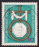 Stamps Germany -  Viaje Santo a Aquisgrán