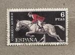 Sellos de Europa - España -  Jinete olimpico