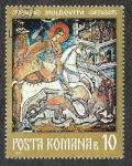 Sellos de Europa - Rumania -  2301 - Frescos de los Monasterios de Moldavia del Norte