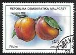 Stamps : Africa : Madagascar :  Frutas - Manzanas