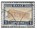 Sellos de Europa - Grecia -  328 - Templo de Hefésto