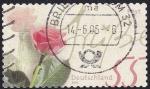 Stamps Germany -  flor rosa