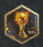Sellos del Mundo : Europa : Rusia :  448 H.B. - Mundial de fútbol Rusia 2018