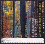 Stamps Germany -  viejos hayedos Alemania