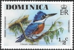 Sellos de America - Dominica -  aves