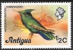 Sellos de America - Antigua y Barbuda -  aves